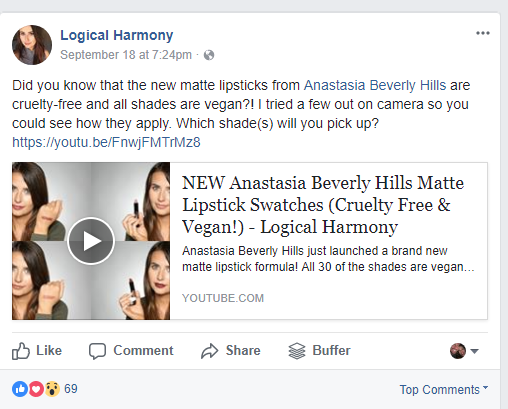 Affiliate Facebook Boost Example