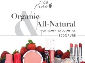 100% Pure Cosmetics and Skin Care Select Robbins Interactive For Affiliate Management